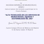 INVITACION CHARLA-DEBATE 27 DE JUNIO SENEC